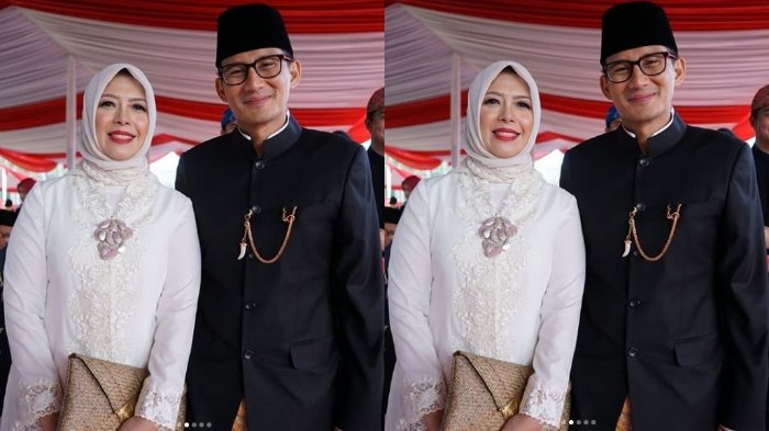 Sandiaga Uno Ajak Istri Saksikan Pertandingan Voli Putra Asian Para Games 2018