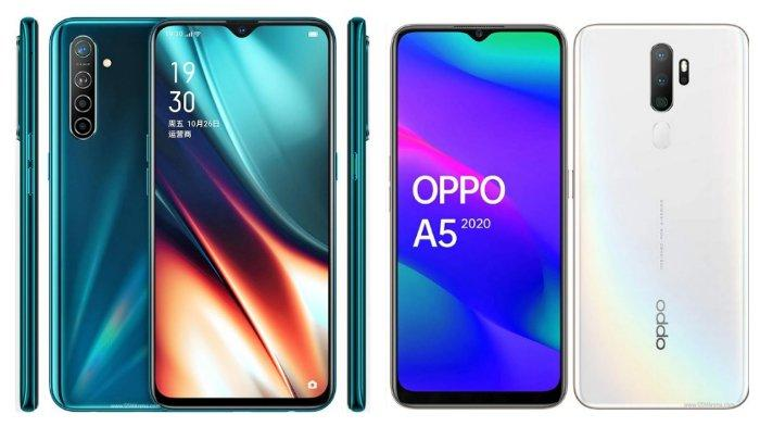 Oppo K5 Dirilis 17 Oktober 2019, Simak Perbandingan Spesifikasinya dengan Oppo A5 (2020) Berikut Ini