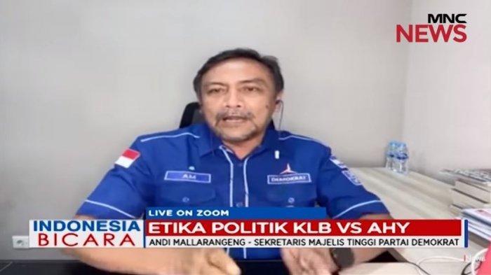 Sekretaris Majelis Tinggi Partai Demokrat, Andi Mallarangeng mengungkit pernyataan Kepala KSP Moeldoko pada awal-awal muncul isu kudeta Partai Demokrat, Selasa (9/3/2021).