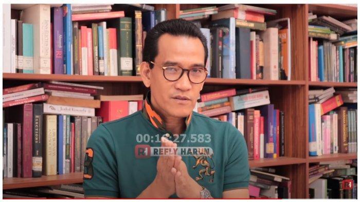 Refly Harun Ungkap Strategi PDIP di Pilpres 2019, Pasangkan Jokowi dengan Maruf Amin Bukan Mahfud MD