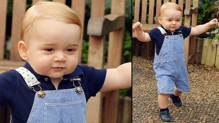 Pangeran George ketika berusia satu tahun.