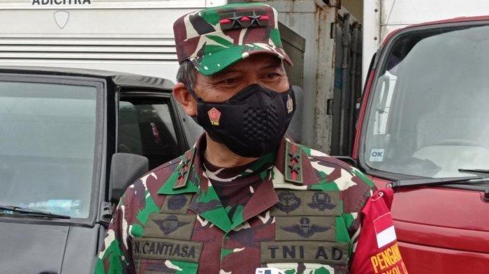 Panglima Kodam XVIII/Kasuari, Mayjen TNI I Nyoman Cantiasa.