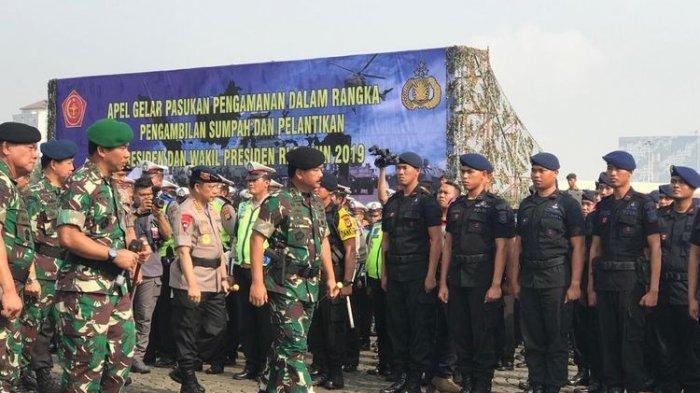 Sebanyak 900 Personel dari TNI-Polri Siaga di Mimika Jelang Pelantikan Presiden-Wapres