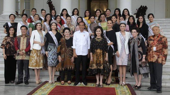 Jokowi Undang Finalis Putri Indonesia 2019 ke Istana Kepresidenan, Banyak Pembicaraan soal Milenial