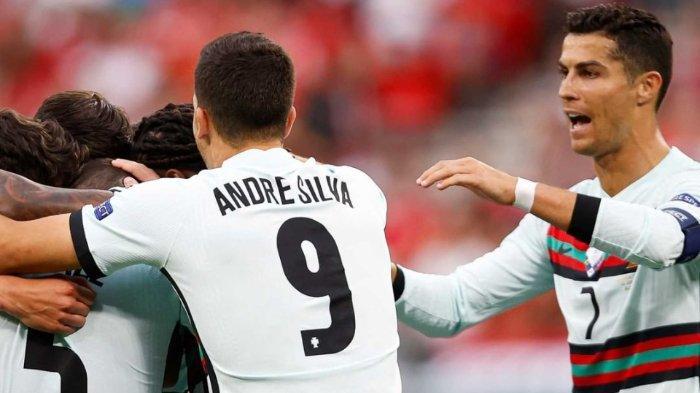 Hasil EURO 2020: Cristiano Ronaldo Borong 2 Gol, Portugal Hancurkan Hungaria dengan Skor 3-0
