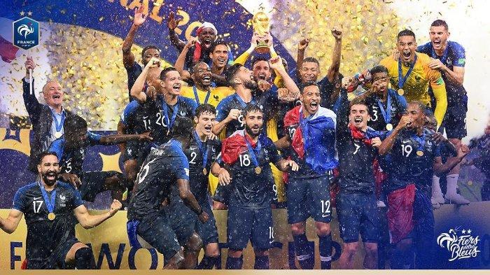 Menangkan Piala Dunia 2018, Skuat Perancis Masih Dianggap Tak Layak Disebut Generasi Emas