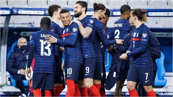 EURO 2020: Didier Deschamps Turun Tangan soal Konflik Giroud dengan Mbappe di Timnas Prancis
