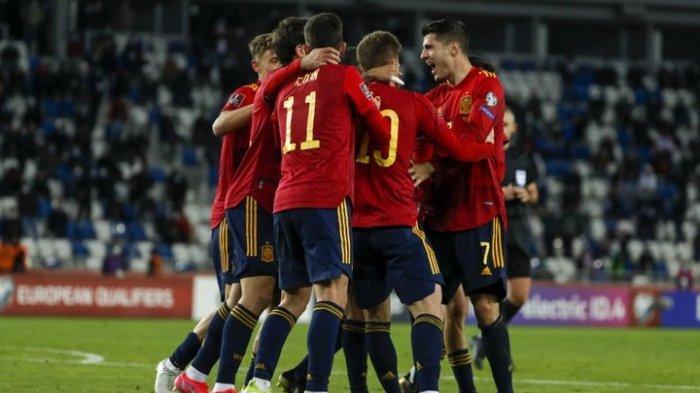 Sedang Berlangsung Laga Slovakia Vs Spanyol Grup E EURO 2020, Tonton Live Streaming RCTI dan Mola TV