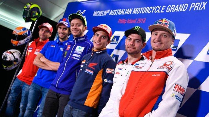 Link Live Streaming MotoGP Valencia 2019 Seri Balapan Terakhir Pukul 20.00 WIB, Tonton via HP