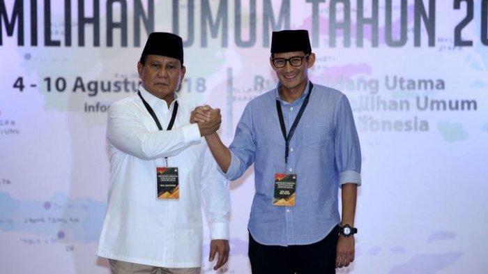 Beri Masukan pada Prabowo agar Tetap Jadi Oposisi, Sandiaga: Keputusan Akhir Ada di Gerindra