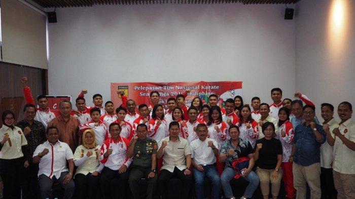 Tim Karate Indonesia Siap Bertanding di SEA Games 2019, PB Forki Targetkan 2 Medali Emas