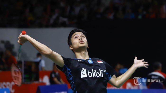 Jadwal Bulutangkis Olimpiade Tokyo 2020 Hari Ini: Anthony Ginting Vs Chen Long, Live di TVRI