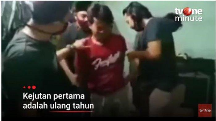 Viral Polisi Beri Kejutan Ulang Tahun saat Gerebek Pelaku Curanmor, Ucap Selamat dan Nyanyi Bersama