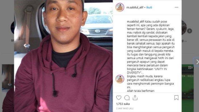 Pelaku ujaran pemenggal Jokowi ditangkap, Minggu (12/5/2019)