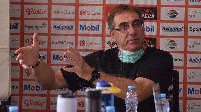 Hadapi Piala Menpora 2021, Pelatih Persib Bandung Robert Alberts Persiapkan Hal Ini: Ada Harapan