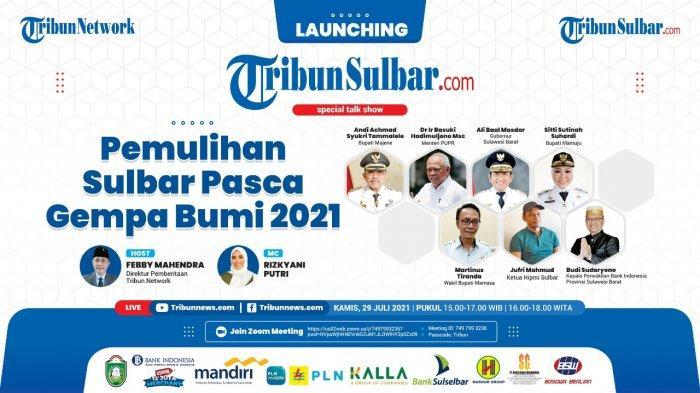 Menteri PUPR dan Gubernur Sulbar Pembicara Peluncuran Tribun-Sulbar.com, Portal ke-53 Tribun Network