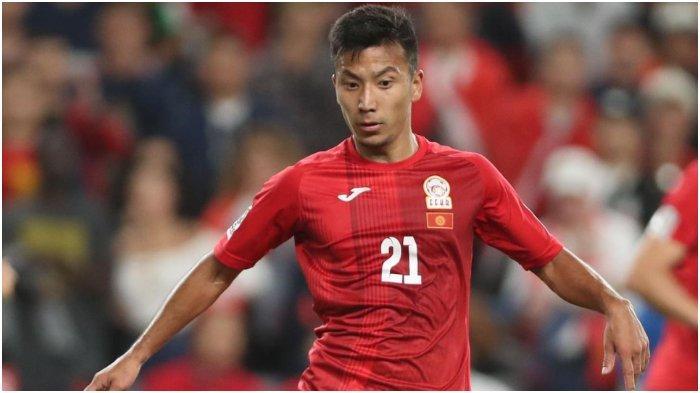 Pemain asal Kyrgyzstan yang bermain di FC Dordoi Bishkek, Farkhat Musabekov