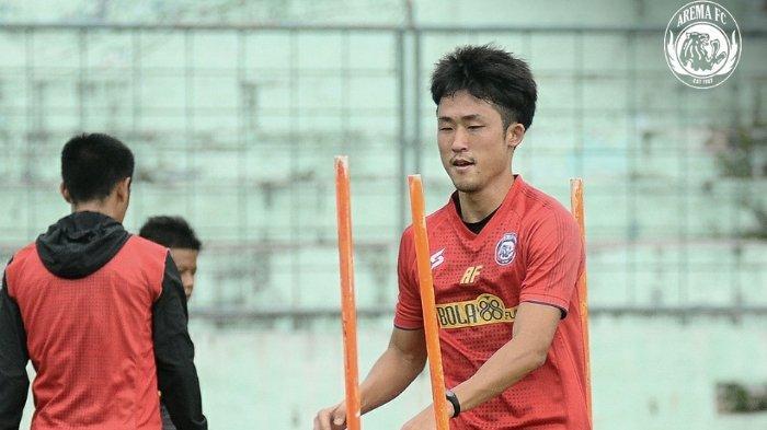 Pemain asing Arema FC Renshi Yamaguchi