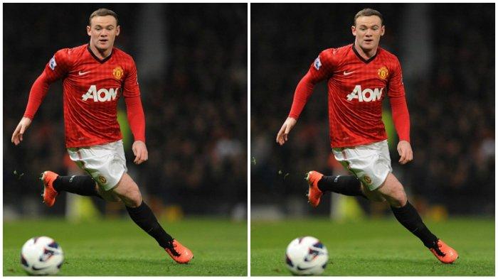 Pemain bintang Manchester United, Wayne Rooney