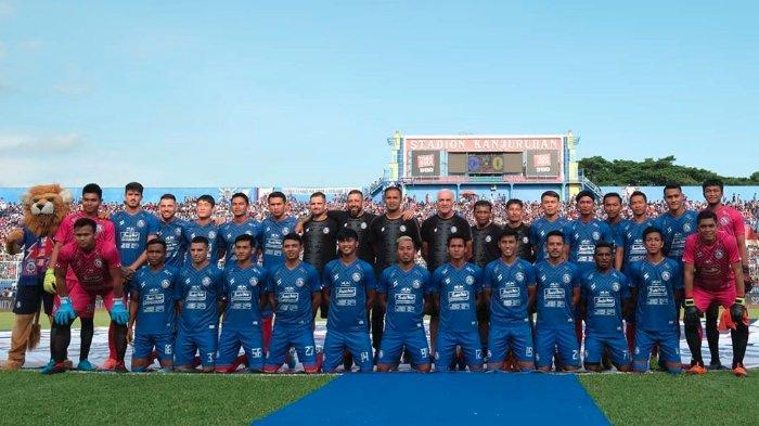 Tak Berhenti Latihan di Tengah Pandemi Virus Corona, Arema FC Lakukan secara Online