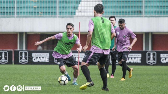 Jelang Hadapi Borneo FC, Tim Pelatih Ingin Pemain PSS Sleman Bisa Tampil Lepas