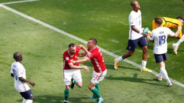 EURO 2020: Sedang Berlangsung Babak Kedua Hungaria Vs Prancis, Skor 1-0, Streaming Mola TV