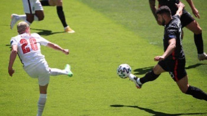 EURO 2020: Update Skor Inggris Vs Kroasia, Raheem Sterling Bawa The Three Lions Unggul 1-0