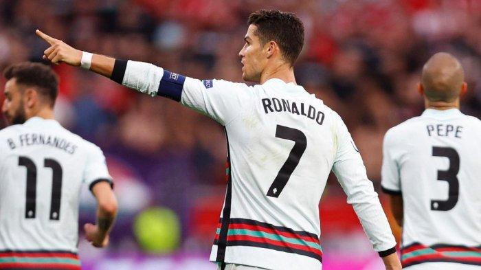 Hasil EURO 2020: Cristiano Ronaldo Ukir 3 Rekor Baru dalam Kemenangan Portugal atas Hungaria