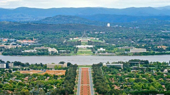 Pemandangan Kota Canberra, Ibu Kota Australia