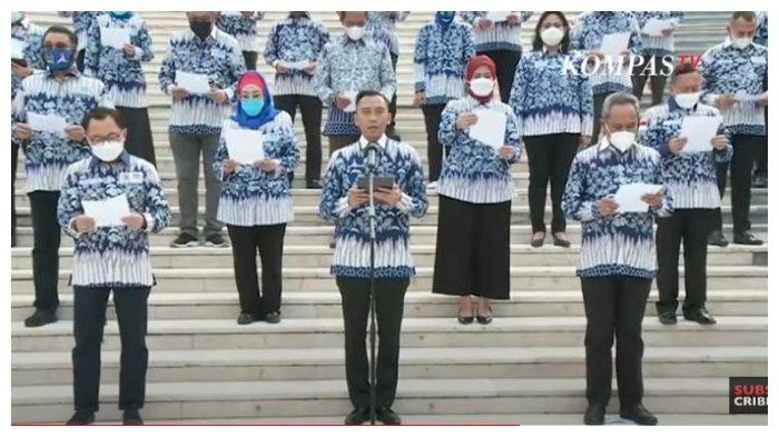Tolak Hasil KLB, Ibas Pimpin Ikrar Setia Fraksi Demokrat DPR RI untuk AHY, Berikut Bunyinya