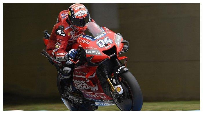 Pembalap MotoGP pabrikan Ducati, Andrea Dovizioso