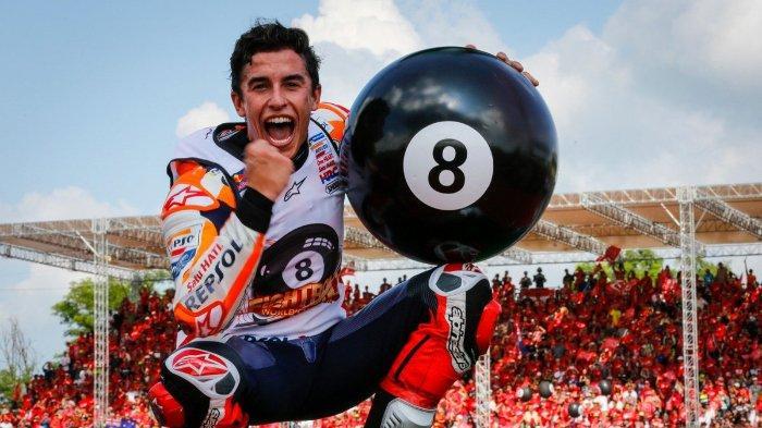 KLASEMEN MotoGP 2019, Jadi Runner-up di Sirkuit Sepang, Marc Marquez Pecahkan Rekor Poin Tertinggi
