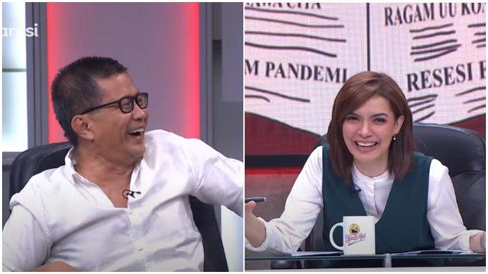 ILC Cuti Panjang, Rocky Gerung Singgung Najwa Shihab dan Rosiana Silalahi: Mulai Mikir Turunkan Tone