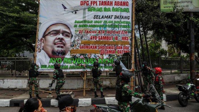 Baliho Habib Rizieq Shihab Dicopot TNI, PA 212 Justru Ungkapkan Rasa Terima Kasih karena Hal Ini