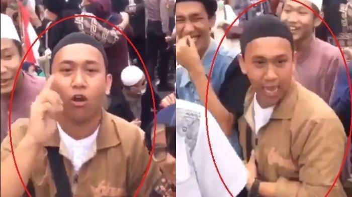 Ternyata Ini Motif HS yang Lontarkan Ancaman Penggal Kepala Jokowi saat Demo hingga Viral