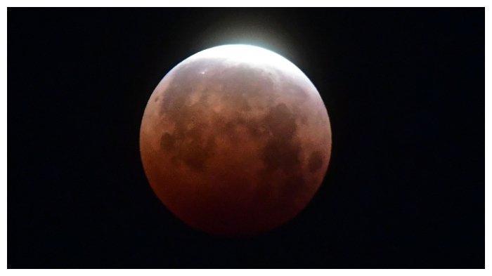 Potret Gerhana Bulan Total atau Super Blood Moon di Berbagai Kota di Dunia, California hingga Sydney