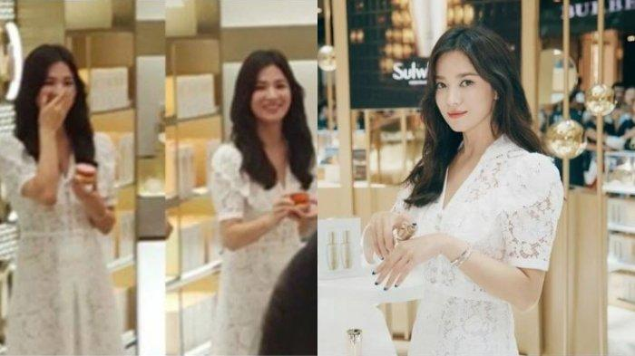 Penampilan perdana Song Hye Kyo setelah putuskan bercerai dari Song Joong Ki, Sabtu (6/7/2019).