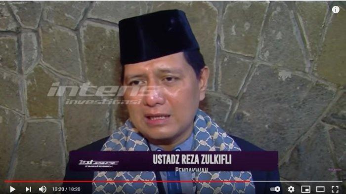 Pendakwah Ustaz Reza Zulkifli memberikan komentar.