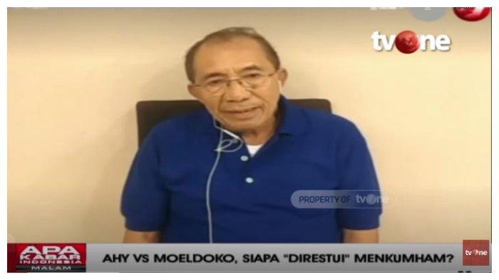 Yakin 1000 Persen Hasil KLB Partai Demokrat akan Disahkan, Max Sopacua: Pak Moeldoko Sudah Ketum