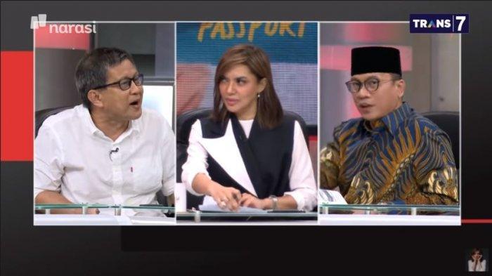 Debat Berlanjut di Balik Layar Mata Najwa, Rocky pada Anggota DPR: Lu Jengkel, Lu Ajak Gue Debat