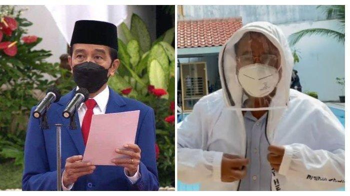 Pengacara kondang Hotman Paris Hutapea membuat sebuah video pendek yang ditujukan kepada Presiden RI Joko Widodo (Jokowi), Kamis (7/7/2021).