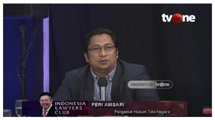 Di ILC, Feri Amsari Sebut Munculnya KAMI akibat Kelalaian Pemerintah Jokowi: Alasannya Sederhana