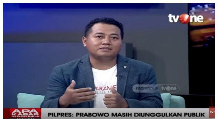 Pengamat Politik Adi Prayitno tanggapi hasil survei elektabilitas calon presiden (capres) di Pilpres 2024 mendatang, dalam acara Apa Kabar Indonesia Malam, Selasa (23/2/2021).
