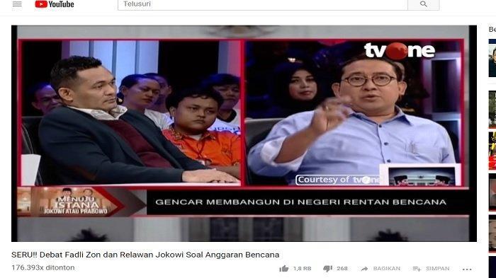 Boni Hargens Diam saat Diminta Data oleh Fadli Zon, Pembawa Acara Akui Harus Undang Narasumber Lain