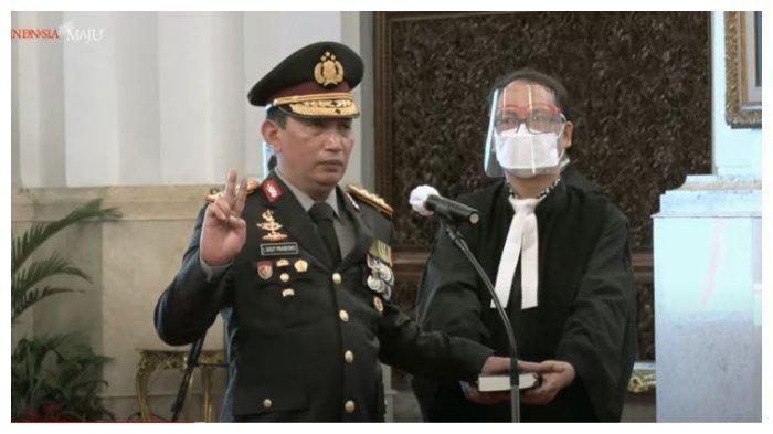 Kapolri Listyo Sigit Disumpah Menurut Agama Kristen oleh Jokowi, Berikut Bunyi Lengkapnya
