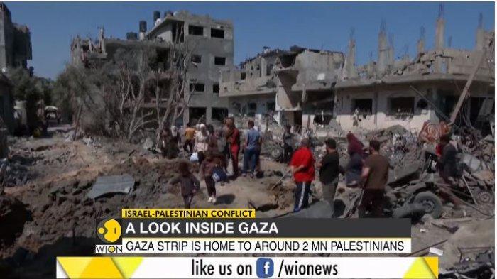 Foto-Foto Kengerian Kondisi Gaza yang Dibombardir Israel, Warga Palestina: Tak Ada yang Tersisa
