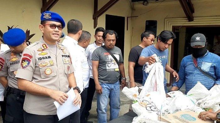 Ditpolairud Polda Metro Jaya Gagalkan Penyelundupan 27 Satwa Dilindungi dari Papua