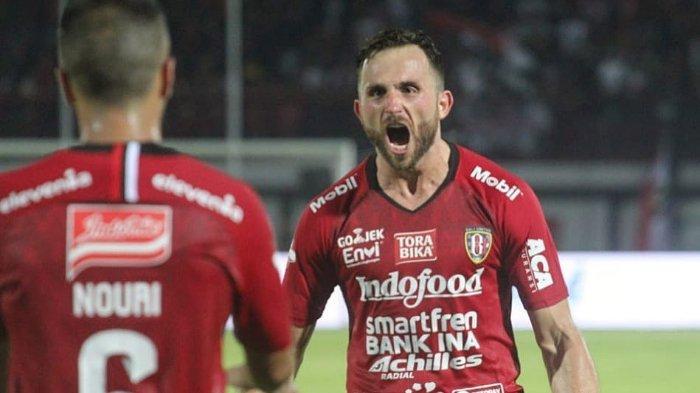 Madura United Vs Bali United, Ilija Spasojevic Bicarakan Dejan Antonic: Saya Sudah Lama Kenal
