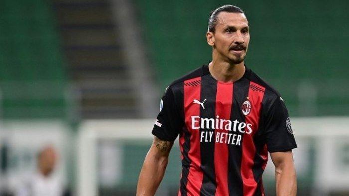 Hasil Liga Italia Udinese Vs AC Milan, Ibrahimovic Sumbang 1 Gol dan Samai Rekornya Sendiri