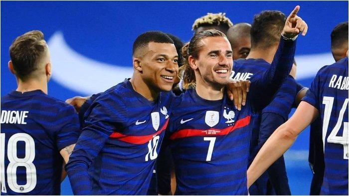 EURO 2020: Lini Depan Timnas Prancis Semakin Menakutkan, Antoine Griezmann Catat Rekor Ketajamannya